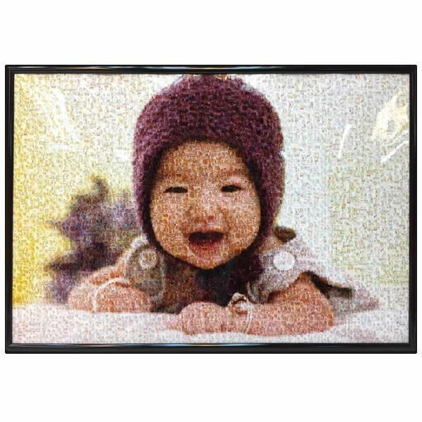 馬賽克相片連相框