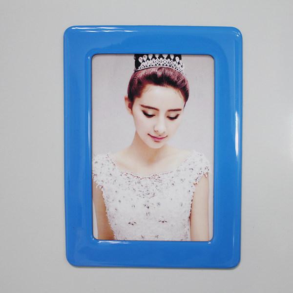 6寸磁性水晶相框 - 湖水藍