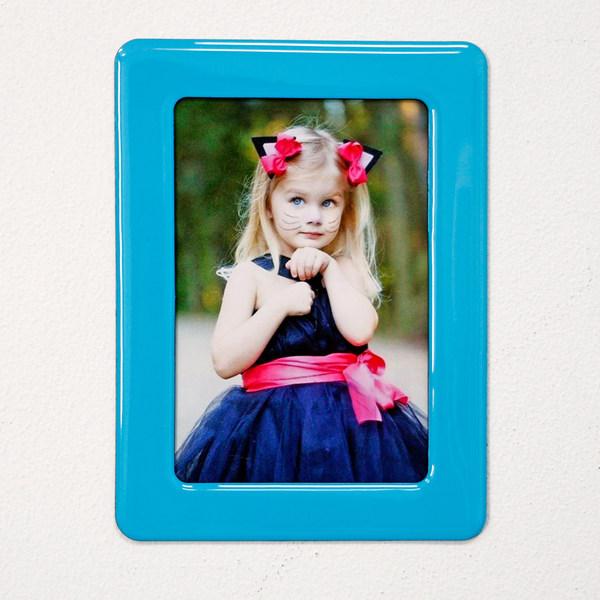 6寸磁性水晶相框 - 淺藍