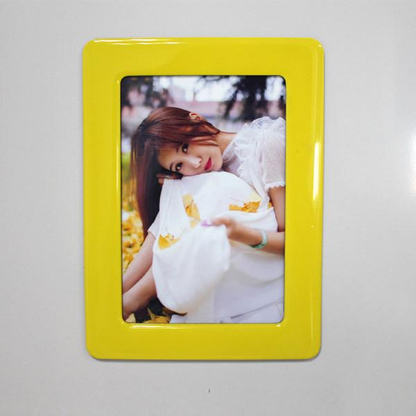 6寸磁性水晶相框 - 檸檬黃
