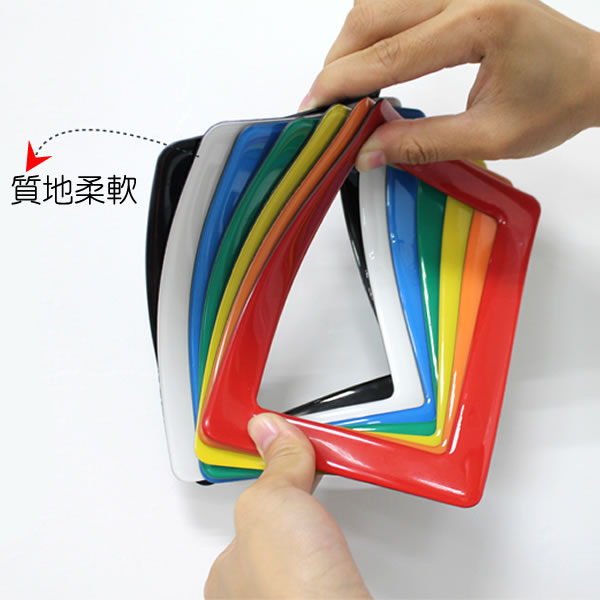 6寸磁性水晶相框質地柔軟